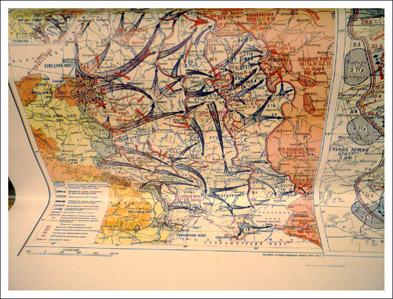 Изготовление карт боевых действий
